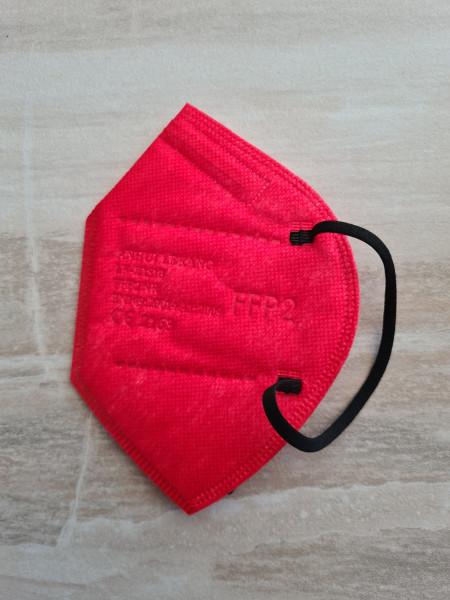 FFP2 Masken in Rot